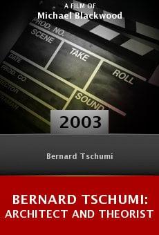 Bernard Tschumi: Architect and Theorist online free