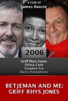 Betjeman and Me: Griff Rhys Jones online free