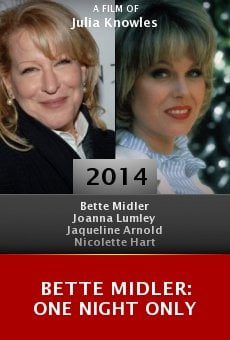 Ver película Bette Midler: One Night Only