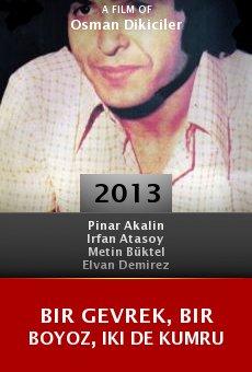 Watch Bir Gevrek, Bir Boyoz, Iki de Kumru online stream
