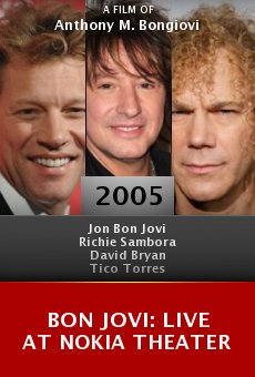 Bon Jovi: Live at Nokia Theater online free