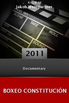Ver película Boxeo Constitución