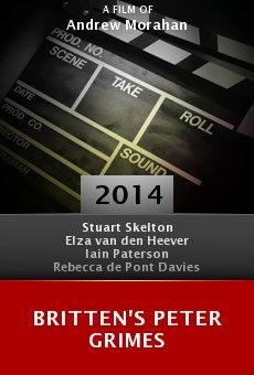 Ver película Britten's Peter Grimes