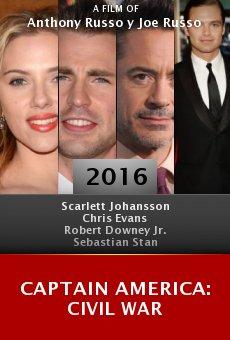 Watch Captain America: Civil War online stream