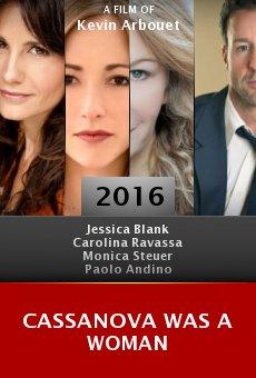Cassanova Was a Woman online