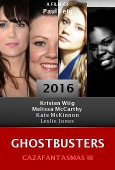 Watch Ghostbusters online stream