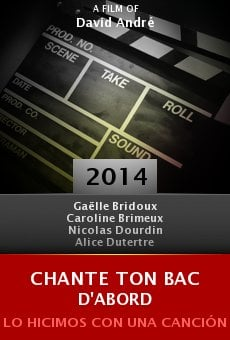 Watch Chante ton bac d'abord online stream