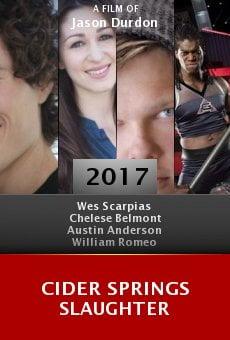 Cider Springs Slaughter online