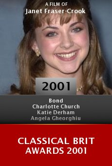 Classical Brit Awards 2001 online free