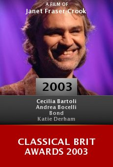 Classical Brit Awards 2003 online free