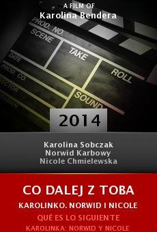 Ver película Qué es lo siguiente Karolinka: Norwid y Nicole