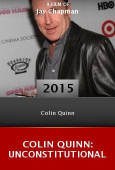 Watch Colin Quinn: Unconstitutional online stream