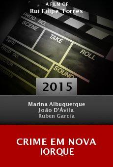 Crime em Nova Iorque online