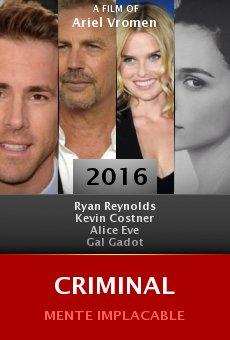 Ver película Criminal