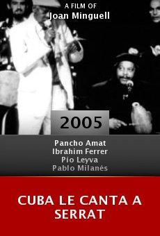 Cuba le canta a Serrat online free