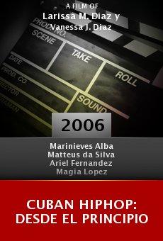 Cuban HipHop: Desde el Principio online free