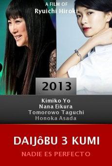 Daijôbu 3 kumi online free
