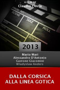 Ver película Dalla Corsica alla linea gotica