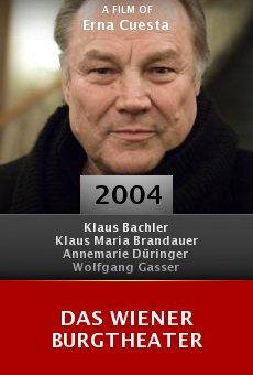 Das Wiener Burgtheater online free