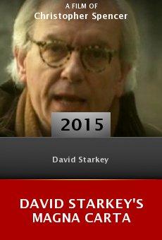 Ver película David Starkey's Magna Carta