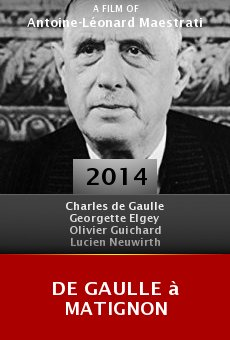 De Gaulle à Matignon online free