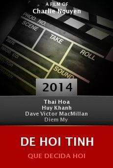 Watch De Hoi Tinh online stream