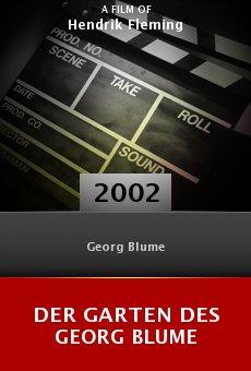 Der Garten des Georg Blume online free
