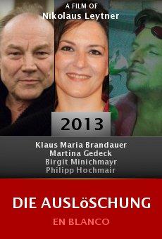Ver película Die Auslöschung