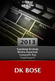 Watch DK Bose online stream