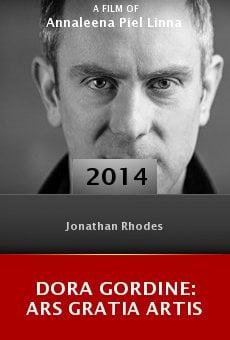 Watch Dora Gordine: Ars Gratia Artis online stream