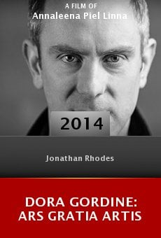 Dora Gordine: Ars Gratia Artis online free