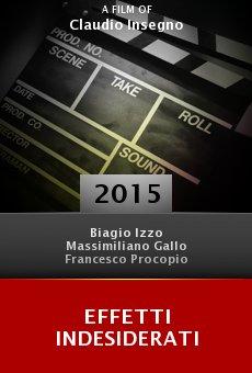 Ver película Effetti Indesiderati