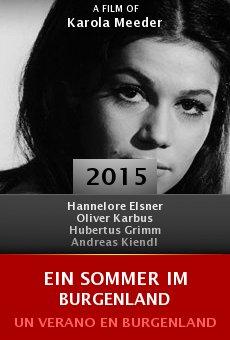Ver película Ein Sommer im Burgenland