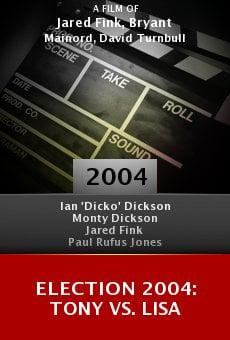 Election 2004: Tony vs. Lisa online free