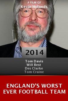 Ver película England's Worst Ever Football Team