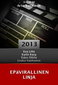 Ver película Epävirallinen linja