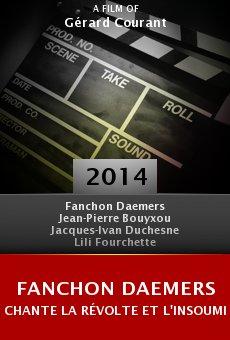 Ver película Fanchon Daemers chante la révolte et l'insoumission au Fifigrot 2014