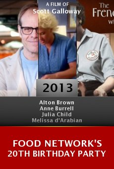 Watch Food Network's 20th Birthday Party online stream