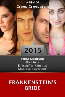 Ver película Frankenstein's Bride