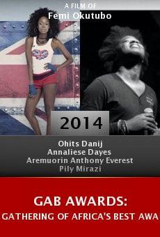 GAB Awards: Gathering of Africa's Best Award online