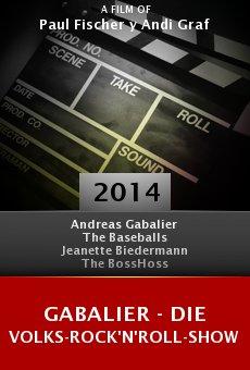 Ver película Gabalier - Die Volks-Rock'n'Roll-Show