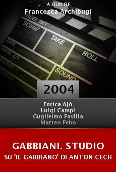 Gabbiani. Studio su 'Il gabbiano' di Anton Cechov online free