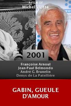 Gabin, gueule d'amour online free