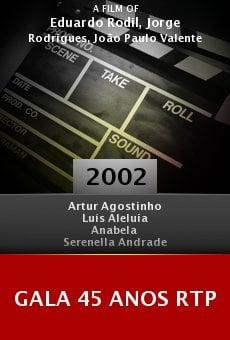 Gala 45 Anos RTP online free