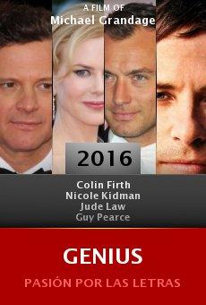 Ver película Genius