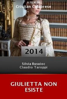 Watch Giulietta non esiste online stream