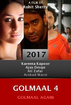 Ver película Golmaal 4