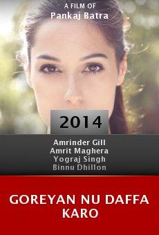 Ver película Goreyan Nu Daffa Karo