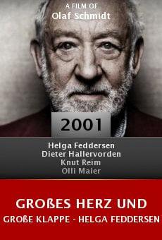 Großes Herz und große Klappe - Helga Feddersen online free
