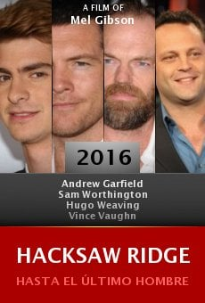Watch Hacksaw Ridge online stream